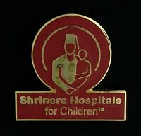 Shriners Hospitals For Children Logo Lapel Pin (1980-lp)