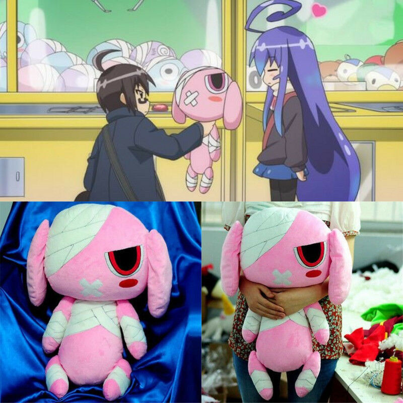 Hot Anime Place to Place Miniwa Tsumiki Cute Rabbit Plush Stuffed Toy Plush Doll