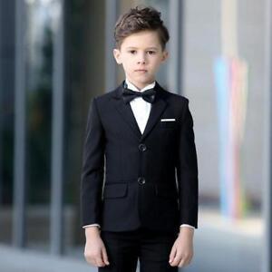 d8f4071fa Black Slim Fit Page Boy Suit Child Dinner s Party Proms Formal ...