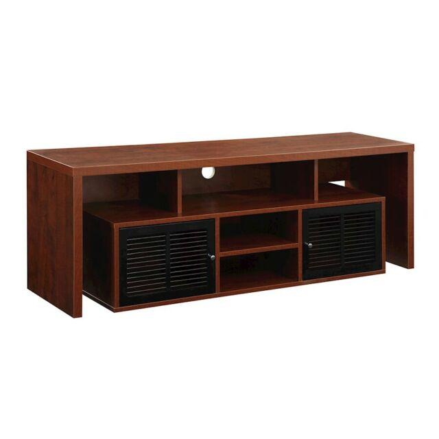 """Convenience Concepts Lexington 60"""" TV Stand, Cherry - 151394CH"""