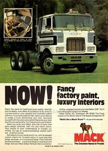 old print 1977 mack truck c o e tractor advertisement ebay
