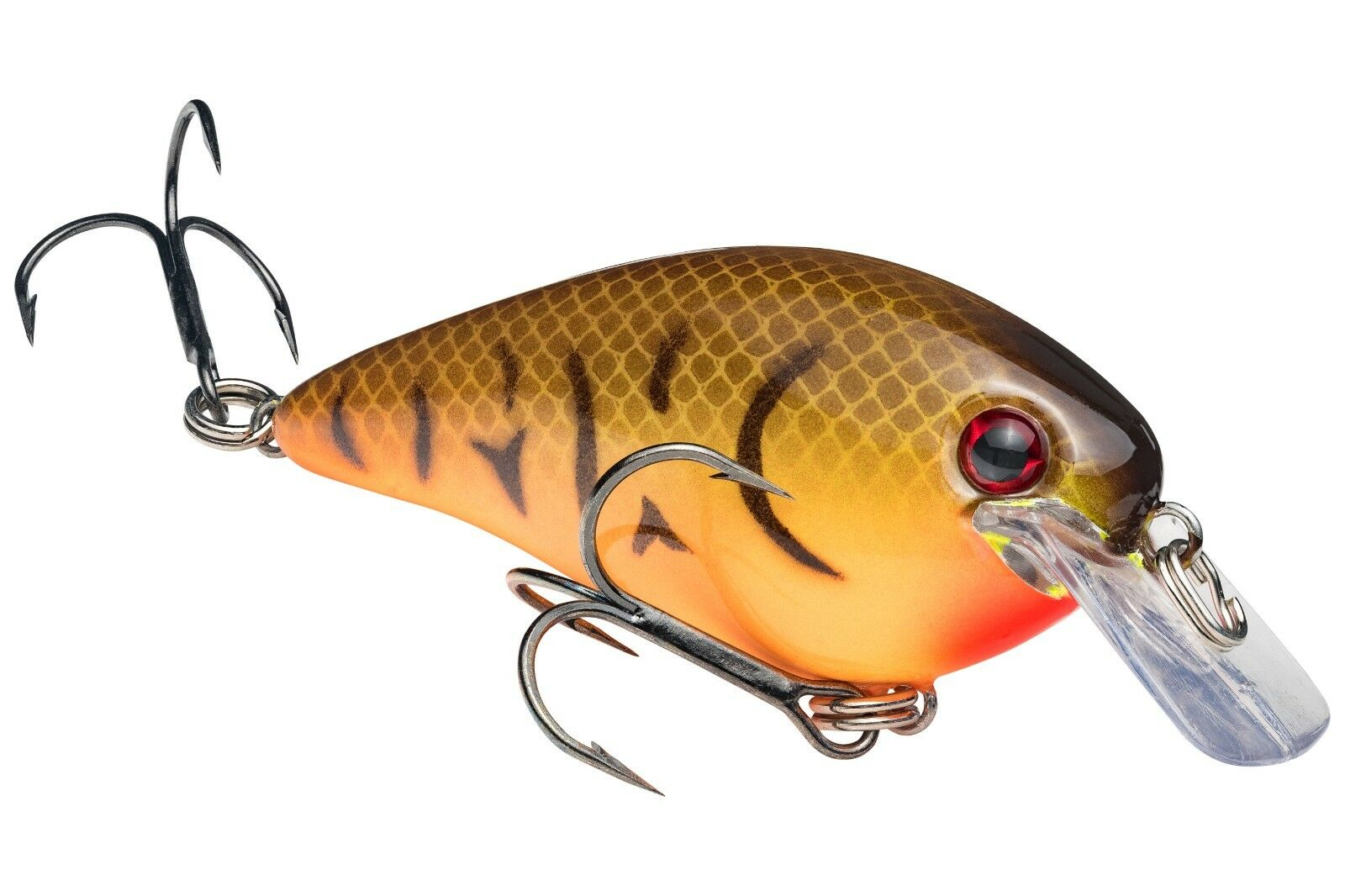 Strike King Crankbait SquareBill HCKVDS1.5-706 Wicked Black Fishing Lure