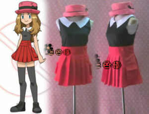 Pokemon-XY-Pocket-Monsters-Serena-Cosplay-Costume
