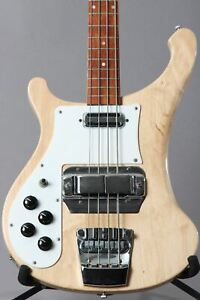 1996-Left-handed-Rickenbacker-4001v63-Maplglo-Bass-Guitar