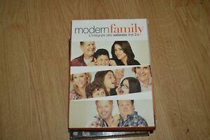 COFFRET-8-DVD-MODERN-FAMILLY-INTEGRALE-SAISON-1-ET-2-SERIE-TV-SAISON-2-NEUF