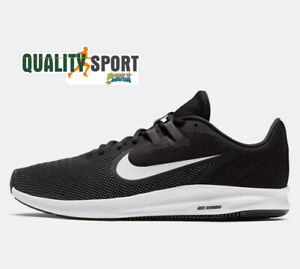 Détails sur Nike Downshifter de Chaussures Sport 9 Noir Homme Running AQ7481 002 2020