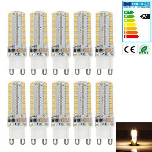 X10 G9 10W LED Birne 220V Capsule Leuchtmittel Warmweiß Stiftsockel Halogenlampe