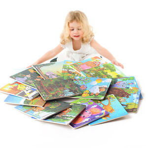 Wooden-Puzzle-Jigsaw-Animals-Toddler-Kids-Early-Learning-Educational-Toys-20pcs