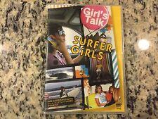 GIRL'S TALK RARE NEW SEALED DVD 2008 GIRL SURFING SURFERGIRLS SPRING JAPANESE!