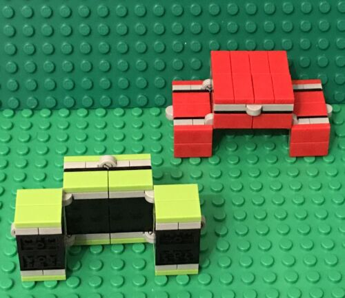 Custom MOC Handheld Play Toy Lego X2 New Fidget Infinity Magic Folding Cube