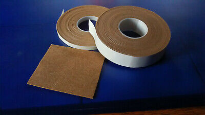 Filzklebeband creme-weiß Kratzschutz 10m lang 1,3mm dick 6-30mm breit n
