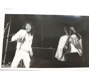 Details about Very unusual early Queen photo 1970s Freddie and Brian May