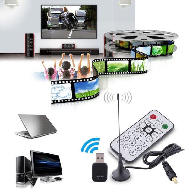 USB2.0 Digital DVB-T SDR+DAB+FM HDTV Tuner Receiver Dongle Stick RTL2832U+R820T2