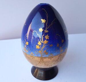 Handgemalt Clever Porzellan Ei/ Osterei Russland Um 1900 Al1220 QualitäTswaren