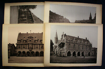 4 Lichtdrucke Von Goslar Um 1895 Architektur Kunst Kultur Niedersachsen Sf Gutes Renommee Auf Der Ganzen Welt