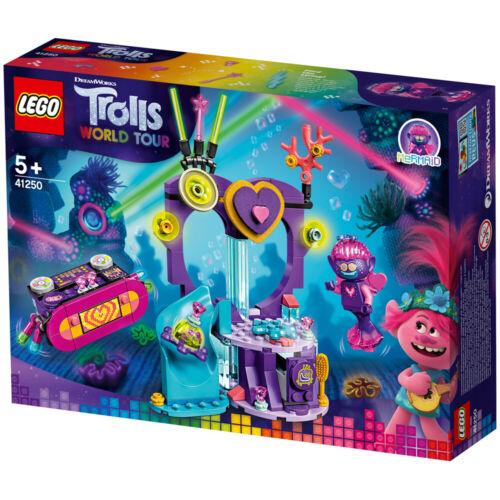 41250 Lego DREAMWORKS Trolls World Tour Techno Reef Dance Party Building Set