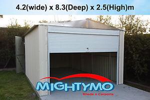 Garden-Sheds-4-2x8-3M-Storage-Workshop-Garage-Large-steel-sheds-Site-shed