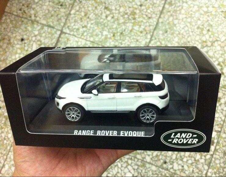 1 43 scale Diecast model Cars RANGE ROVER EVOQUE WHITE