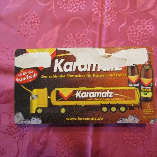 Camion publicitaire bière KARAMALZ emballage original 2 dispo