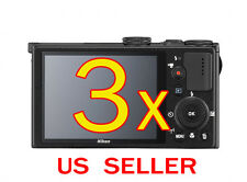 3x Clear LCD Screen Protector Cover Film For Nikon Coolpix P340 Digital Camera