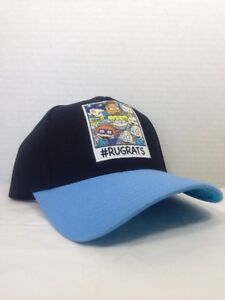 newest 9a778 d884e ... promo code for image is loading nickelodeon rugrats curved bill  adjustable snapback hat cap 632be 6580a