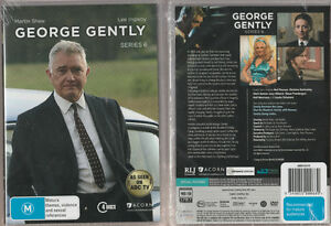 GEORGE-GENTLY-Series-6-New-amp-SEALED-4-DVD-SET-Region-4-UPC-9349055000889