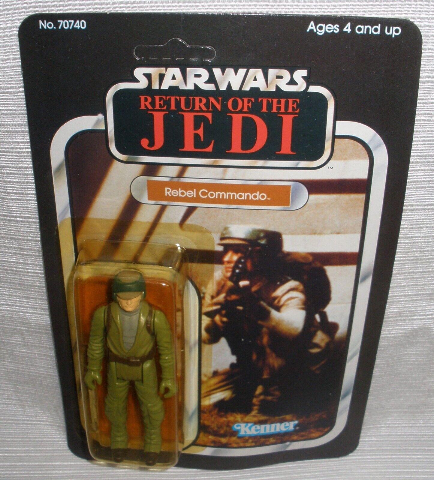 Star Wars rödJ Rebell Commando actionfigur ny på kortet