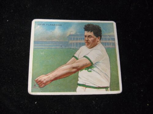 Hassan Athletes John Flanagan Tobacco Card