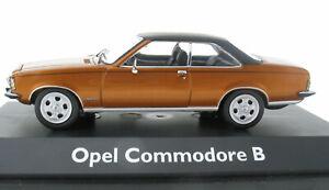 SCHUCO - Opel Commodore B - Coupe gold metallic - 1:43 - NEU in OVP – Modellauto