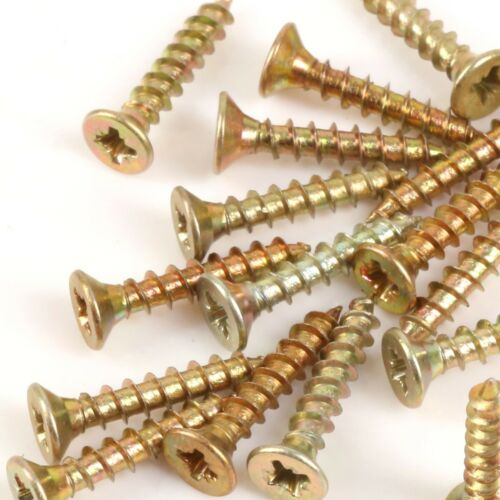 M3 x 17mm Timco WOOD SCREWS PZ1 ZYP Masonry Timber Chipboard Thin Sheet Metal