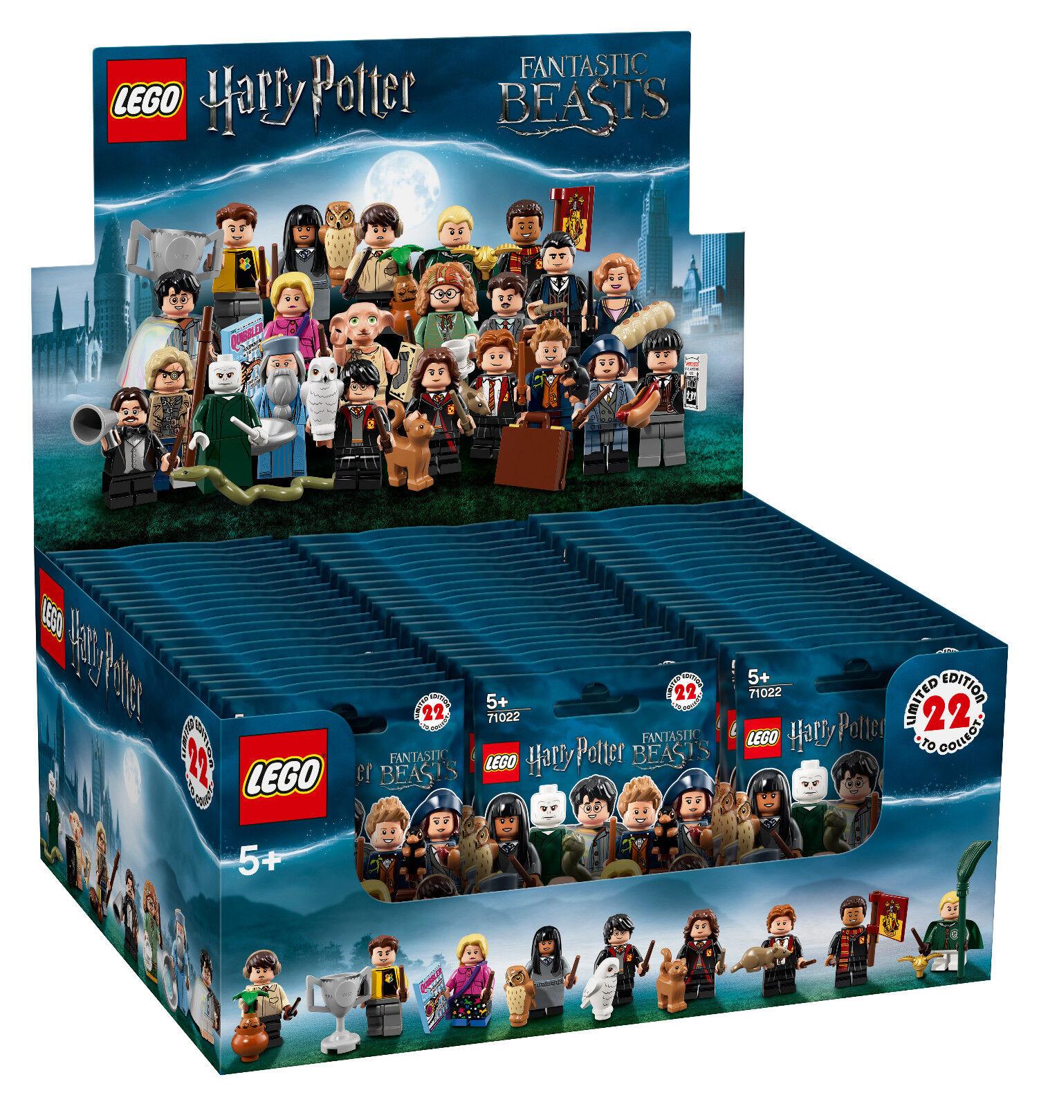(EUR (EUR (EUR 4 66 Pezzo) Display con 60 pezzi LEGO ® statuine 71022  Harry Potter  193fd7