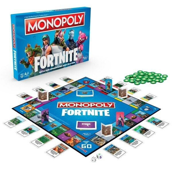 Fortnite Monopoly Hasbro board game Fast Delivery UK VERSION  Easter 2019 Gift