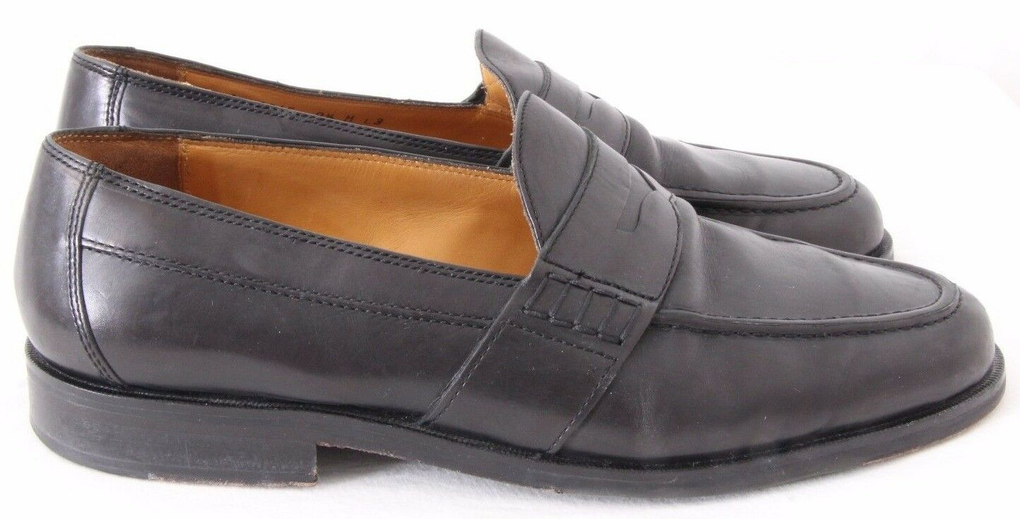 Johnston & Murphy 15-1045 Moc Slip On Dress Pinch Penny Loafers Men's US 9.5M