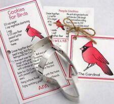 2 ANN CLARK~ CARDINALS ~ tin cookie cutter~MADE IN USA (NEW)  SALE!