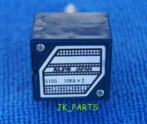 ORIGINAL ALPS RK27 27 Type Dual 10K Potentiometer Brand New!
