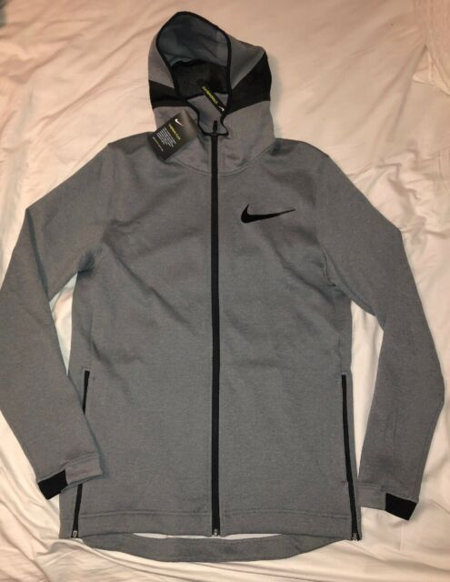 $130 NEW Nike Therma Flex Showtime Men/'s Basketball Full-Zip Hoodie 856438 002