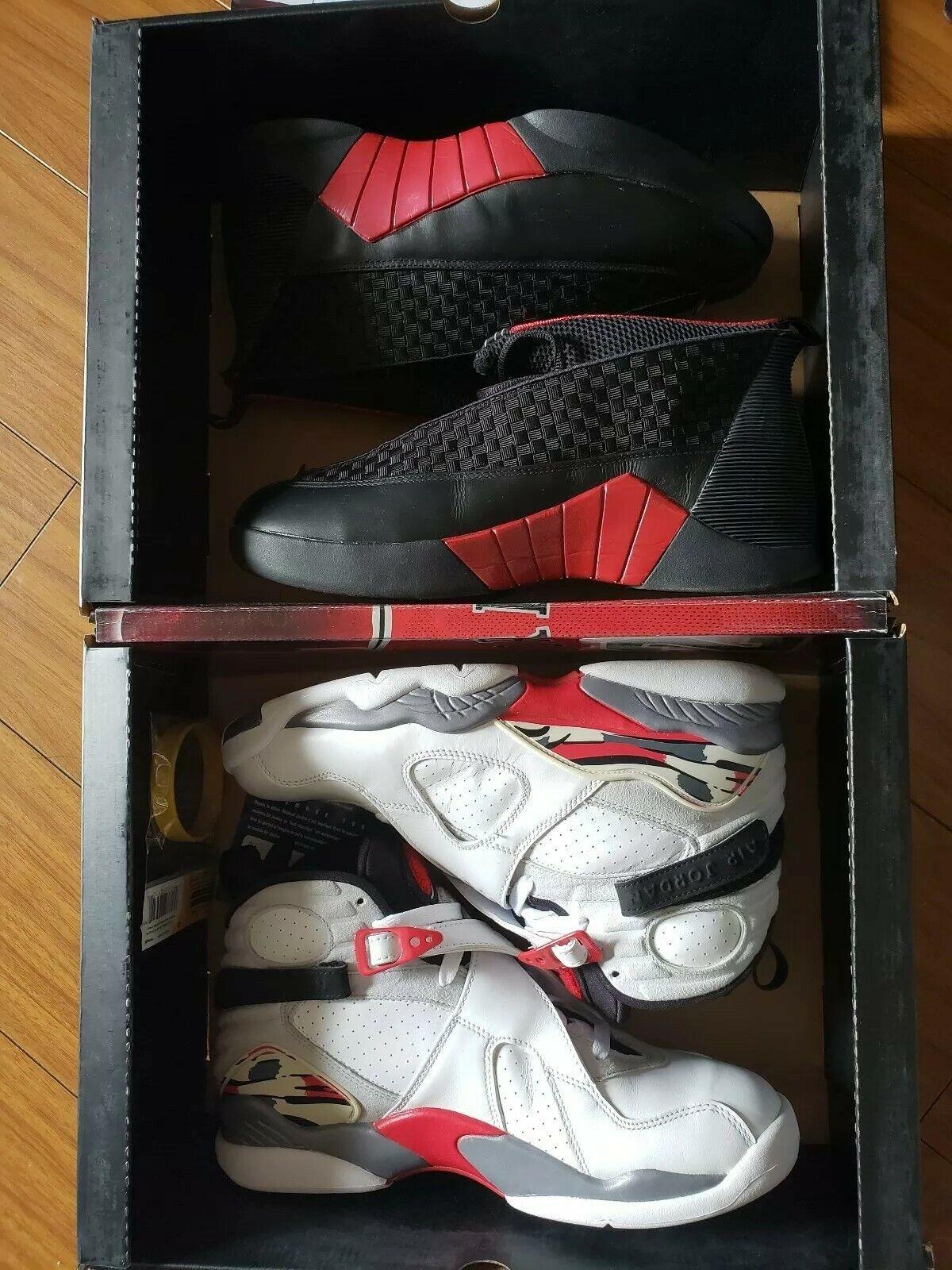 Air Jordan Collezione 15 8 Sz 9.5 Authentic