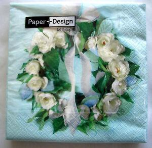 Paper-Design-Hochzeit-Kommunion-Konfirmation-20-Servietten-Rosenkranz