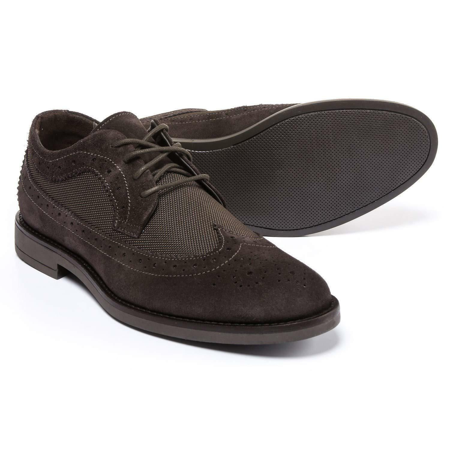A. Testoni Diffusion Made in Italy Diffusion Testoni Ante and Nylon Oxford Zapatos (for Hombre) 0c5a13