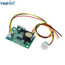 Human Body Sensor Dc12v Pir Ir Pyroelectric Infrared Module Adjust Relay Output