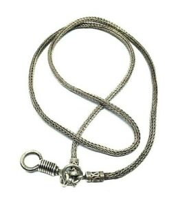 1-Hook-Stainless-Thai-Necklace-Pendant-Amulet-Phra-LP-Buddha-25-inch