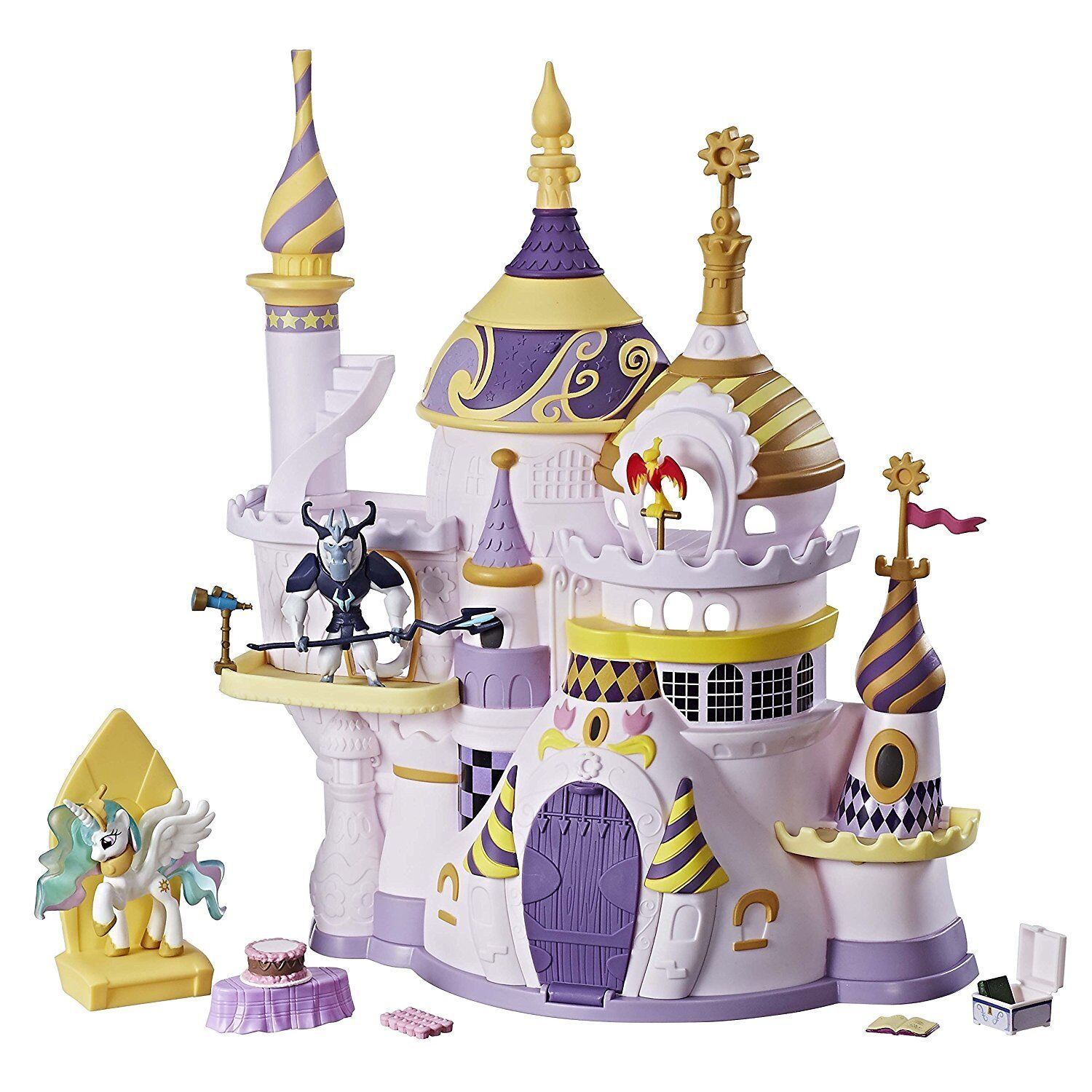 Canterlot Castle Playset My Little Pony Friendship is Magic Storm King Celestia