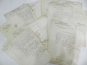 MARINE-TRES-RARE-ENSEMBLE-de-18-DOCUMENTS-SUR-LA-GABARE-LA-GARONNE-1832-1834