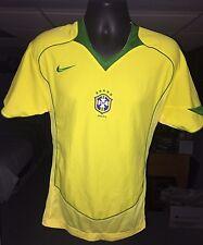 Vintage Brazil ���� Soccer Football Jersey NIKE 2004!!!