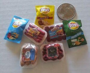 Dollhouse-miniature-food-lot