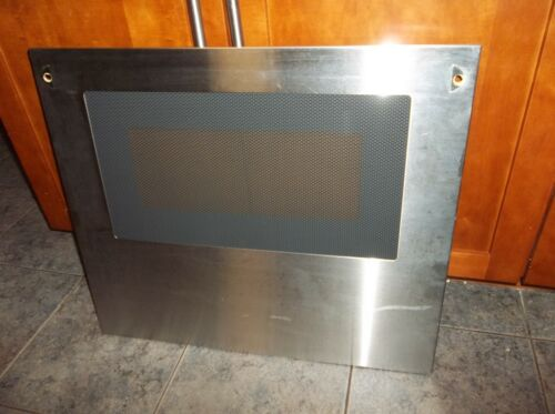 THERMADOR CMT227 or CMT227S lower oven door stainless glass panel 143705451
