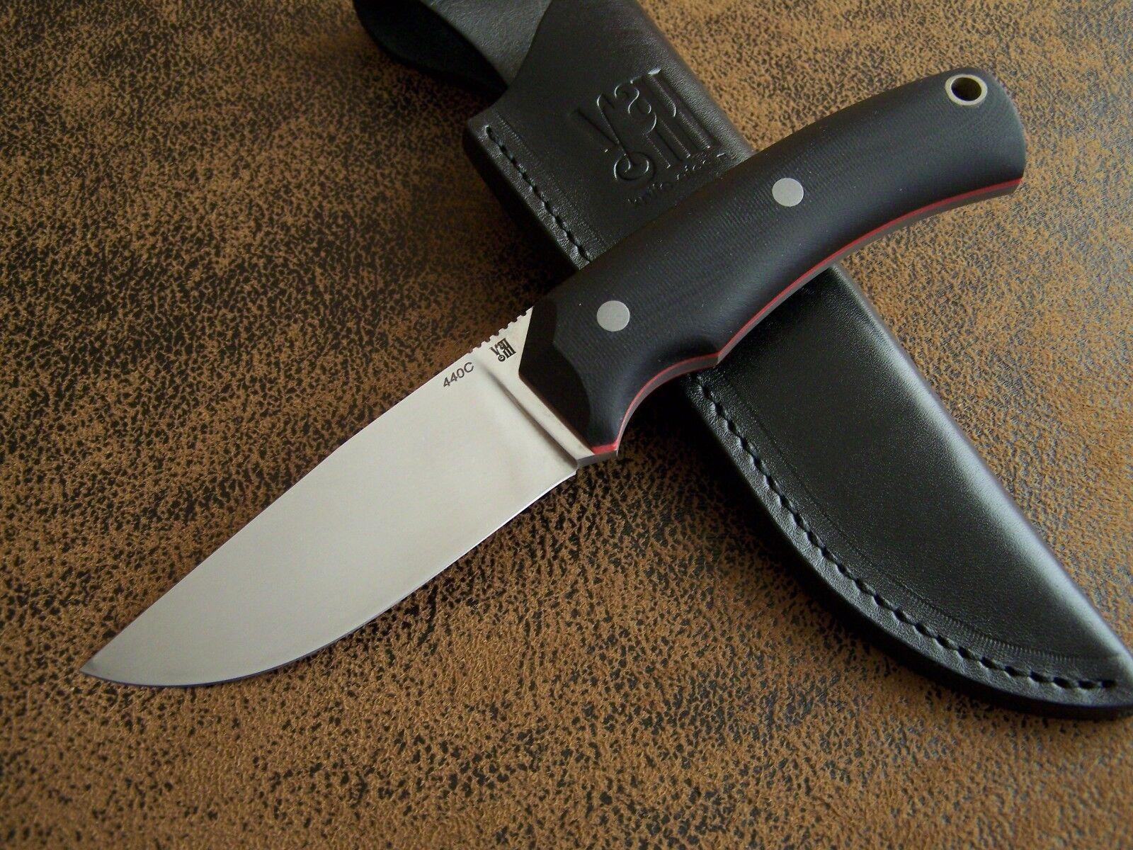 D. Uldanov Exklusives Custom Messer Outdoormesser, Jagdmesser 440C Stahl 59-HRC    Kompletter Spezifikationsbereich