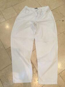 3c35311c6 Image is loading Esprit-Men-039-s-White-Casual-Trousers-UK-