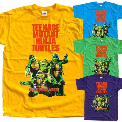 T SHIRT all sizes S to 5XL poster Teenage Mutant Ninja Turtles V6