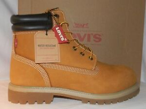f705e7893bb Details about Levi's Men's Harrison R Boot Wheat Camel Tan 517190-11B  Construction Work Nubuck
